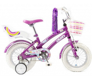 Bicicleta Olmo Rodado 16 Tiny Friends Infantil Acero Nenas
