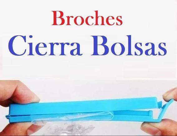 Broche Clip Cierra Bolsas X 10 Unidades