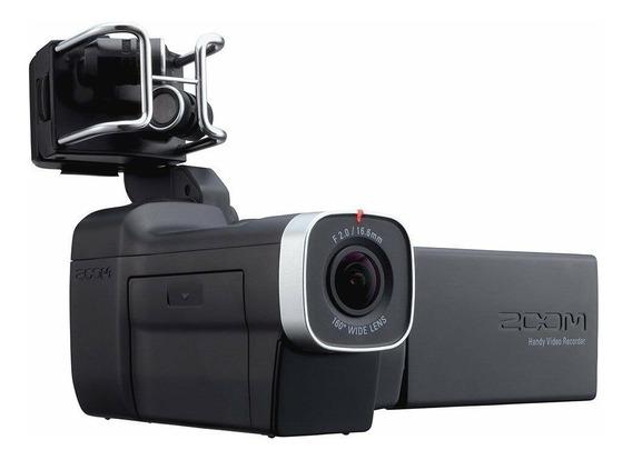 Zoom Q8 Gravador Digital De Áudio E Vídeo - Envio Imediato