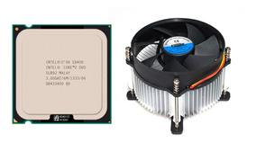 Processador Core 2 Duo E8400 3.00ghz + Cooler Dex Novo
