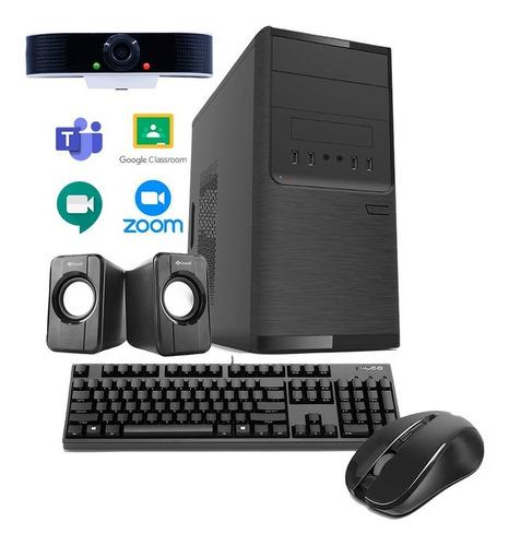 Imagen 1 de 5 de Computadora Completa Amd Dual Core 8gb + Webcam 18 Cuotas!