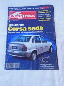 Revista 4 Quatro Rodas N° 421 Agosto De 1995 Em Ótimo Estado