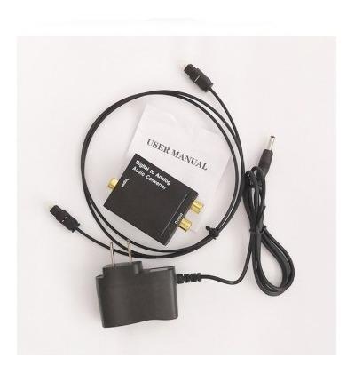 Conversor De Áudio Analógico Para Digital Tv Óptico Coaxial
