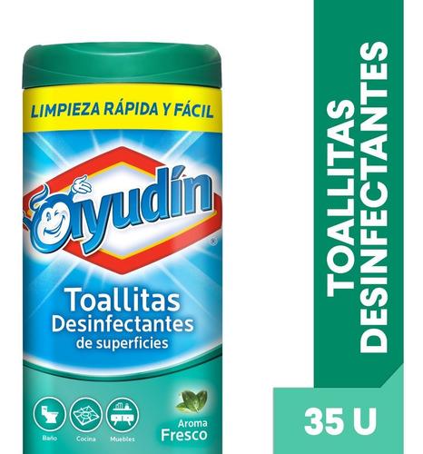 Ayudin Toallitas Desinfectantes Fresca