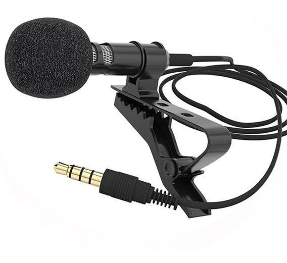 Microfone Com Presilha Para Telefone Celular Ios E Android