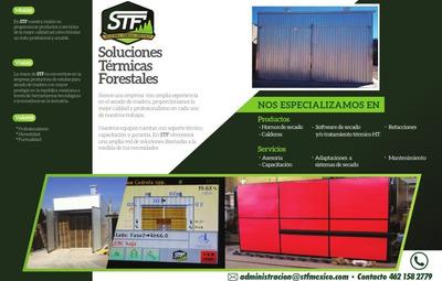 Estufa/horno Para Secar Madera, Control Para Tarima Exportac