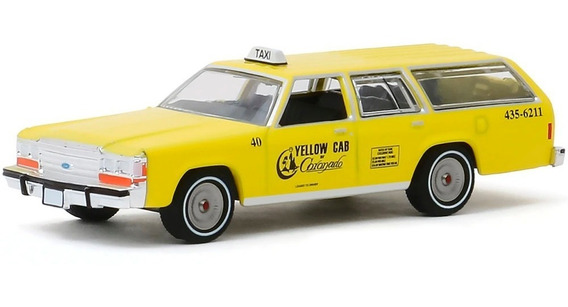 Greenlight Yellow Cab Ford 1988 Ltd Crown Victoria 1:64