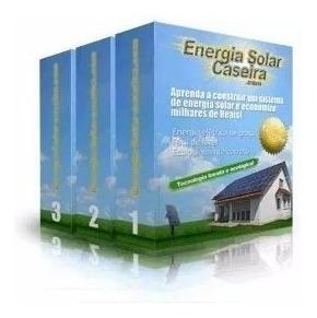 Curso Energia Solar Caseira + Brindes (via Cd Correios) A64