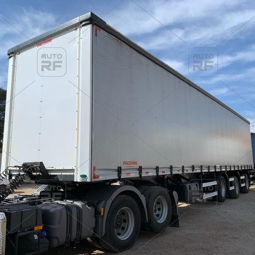 Imagem 1 de 11 de Carreta Sider Vanderleia Reta Facchini 2020 28 Palet S/pneus