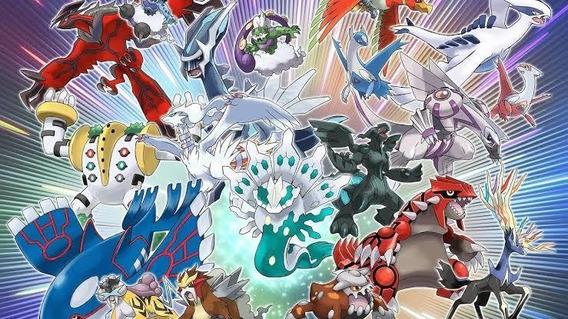 Pokémons De Eventos Pacote Com 11 Para Xy Oras Ultrasun/moon