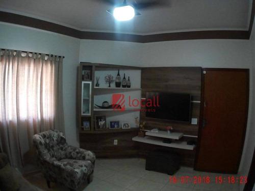 Casa Com 3 Dormitórios À Venda, 121 M² Por R$ 400.000,00 - Parque São Miguel - São José Do Rio Preto/sp - Ca1569
