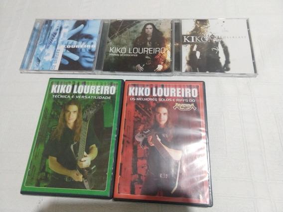 Discografia Kiko Loureiro + Dvds Kiko Loureiro