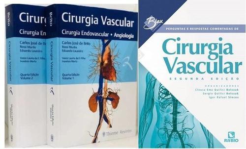 Combo Cirurgia Vascular + Perguntas E Respostas Comentadas