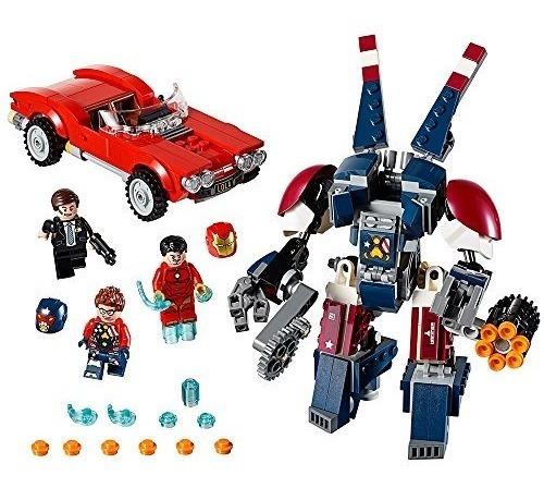 Lego Marvel Super Heroes Iron Man 76077 - Envío Gratis