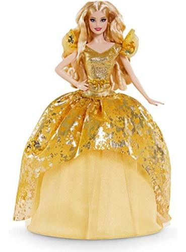 Barbie Signature 2020 Holiday Barbie Doll (cabello Largo Rub