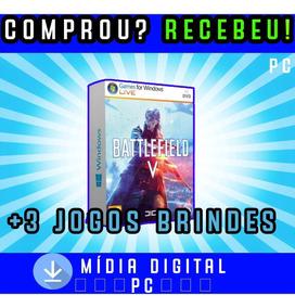 Battlefield 5 Deluxe Edition Pc Digital +3 Jogos Brindes
