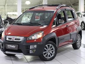 Fiat Idea 1.8 Adventure Flex Dualogic 2013 * Bancos De Couro