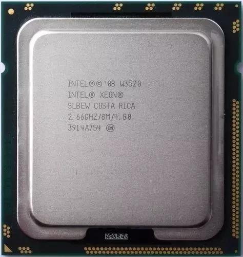Processador Xeon Lga 1366 W3520 ( 2,66ghz / 8mb ) Quad Core