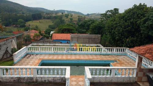 Chácara Com 5 Dormitórios À Venda, 1000 M² Por R$ 800.000,00 - Condomínio Parque São Gabriel - Itatiba/sp - Ch0172