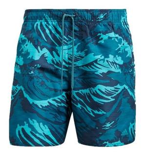 Traje De Baño adidas Hombre Azul Parley Sh Sl Cv5178