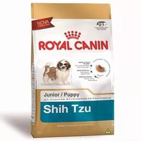 Ração Royal Canin Shih Tzu Junior 2,5 Kg Val. 19/05/2020
