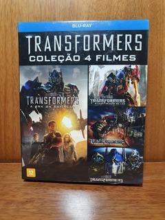 Blu-ray Transformers - Coleção 4 Filmes - Original - Lacrado