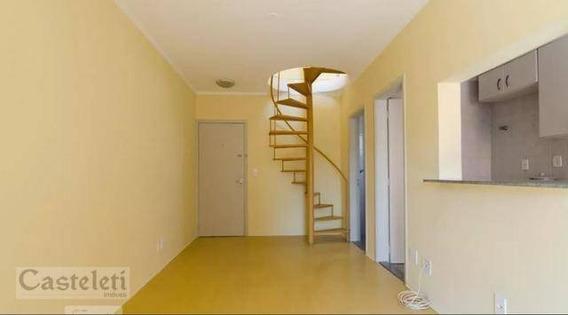 Cobertura Com 1 Dormitório Para Alugar, 66 M² Por R$ 1.500/mês - Centro - Campinas/sp - Co0063