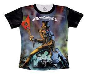 Camiseta Banda Gamma Ray - Lust For Live