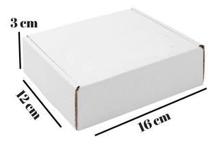 50 Unid Caixa De Papelão Encomenda Correios 3 X 12 X 16