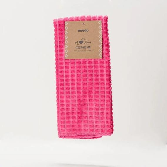 Repasador Arredo Liso - Color Rosa