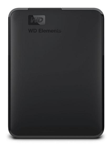 Hd Externo Portátil Western Digital Wd Elements 1tb Usb 3.0