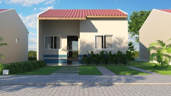 Casa Em Luiz Gonzaga, Caruaru/pe De 53m² 2 Quartos À Venda Por R$ 105.000,00 - Ca269495