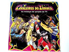 Lp Os Cavaleiros Do Zodíaco - 1995 Nacional C/ Encarte