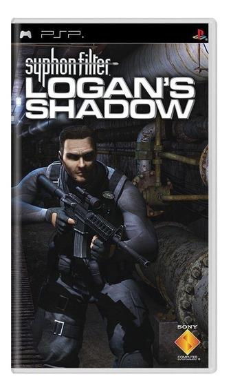 Syphon Filter Logans Shadow Psp Mídia Física Pronta Entrega