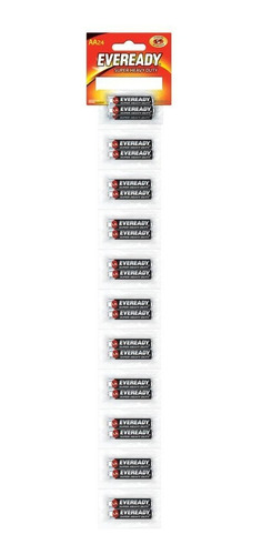 Pila Eveready Carbon Zinc Aa Tira C/24 1.5v 1215-24
