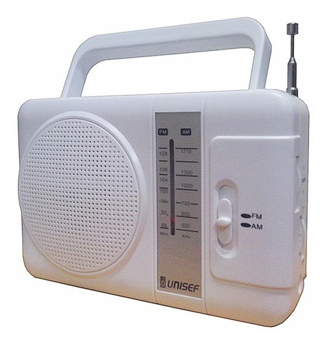Imagen 1 de 4 de Radio Unisef Rf562 Dual Band Am-fm