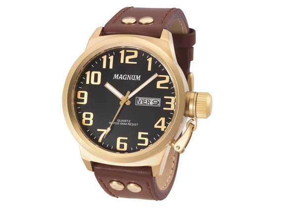 Relógio Magnum Masculino Ma32952p 100% Original Nota Fiscal