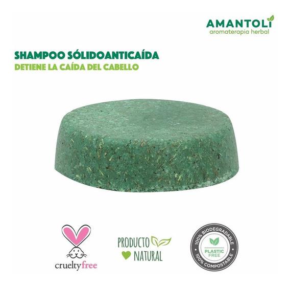 Shampoo Sólido Anticaída Y Cabello Delgado