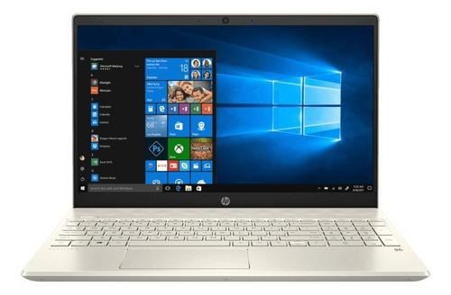"Imagen 1 de 4 de Laptop HP Pavilion 15-CW1012LA dorada 15.6"", AMD Ryzen 3 3300U  12GB de RAM 1TB HDD 128GB SSD, AMD Radeon Vega 6 1366x768px Windows 10 Home"
