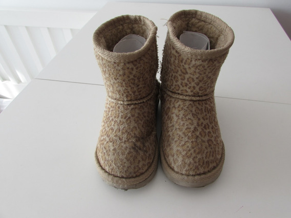 Pantubotas Hush Puppies Animal Print -talle 23 - Exc Estado!