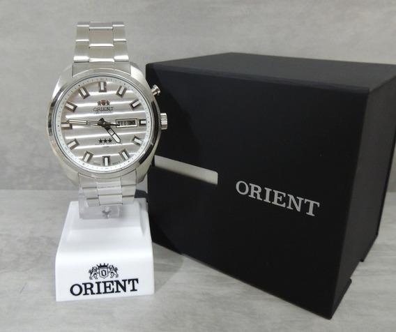 Relógio Masculino Orient Automático 469ss076 S1sx - Nf