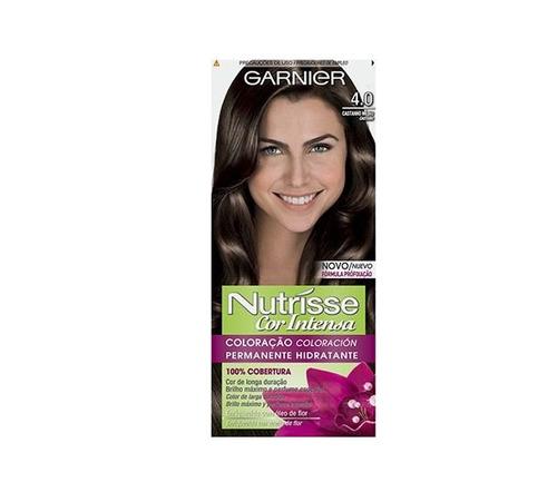 Tinta Nutrisse 4.0 Cor Castaño Med