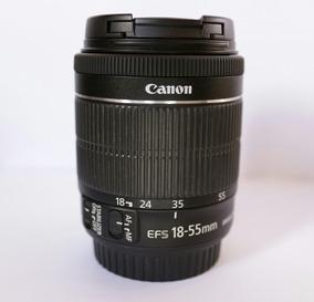 Lente Canon 18-55 Stm F3.5/5.6 Impecável