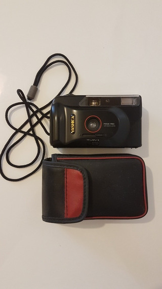 Máquina Fotográfica Yashica Md 135 Focus Free Anos 90