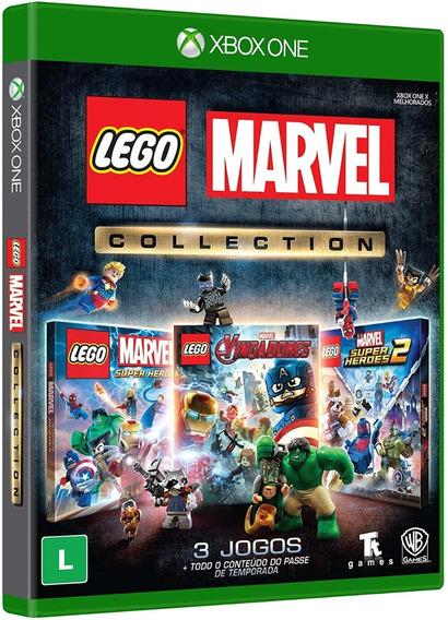 Lego Marvel Collection Xbox One Midia Física 3jogosportuguês