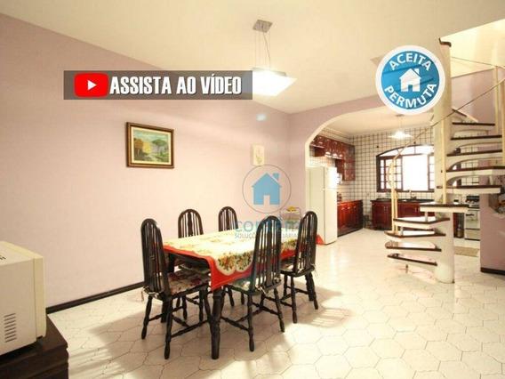 So0122- Sobrado Com 2 Dormitórios À Venda, 250 M² Por R$ 445.000 - Jardim Santo Estêvão - Carapicuíba/sp - So0122