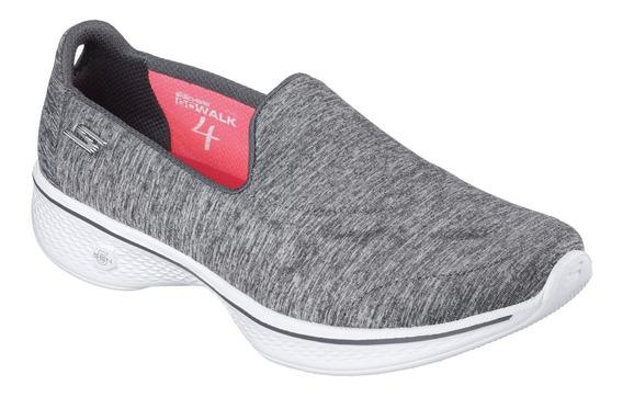 Zapatillas Skechers Go Walk 4 Achiever Mujer Caminata Import
