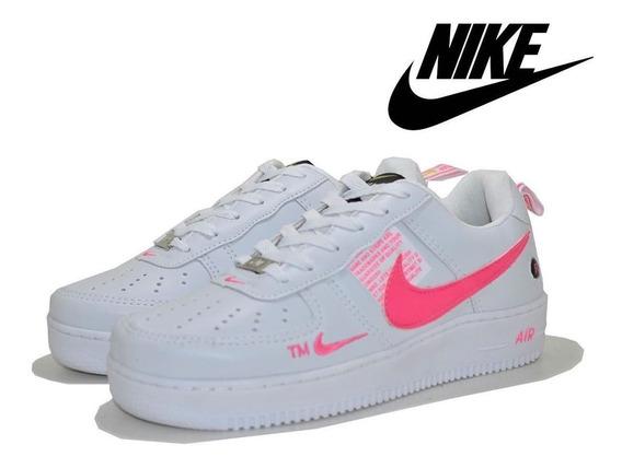 Tênis Nike Air Force Casual Fotos Real Do Produto Promoção