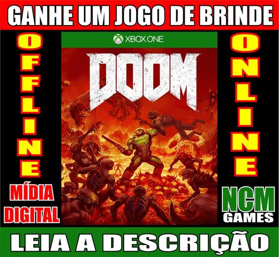 Doom Xbox One + Brinde