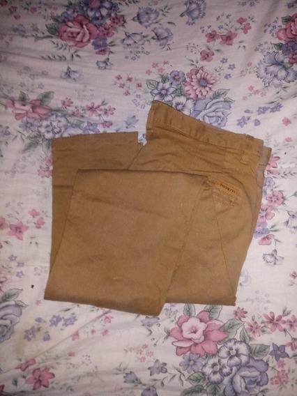 Pantalon De Vestir. De Gabardina